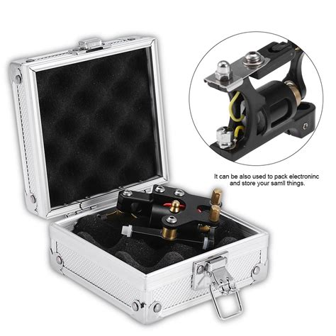 tattoo machine case machine gun aluminum box carrying storage