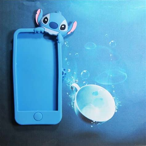 Casing Iphone 55s Stitch Silicon new blue stitch soft silicone rubber back cover for apple iphone 5 5g pp ebay