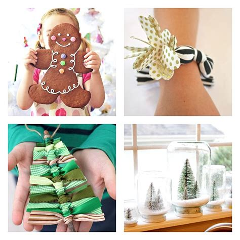 creative christmas kids crafts and gifts to make