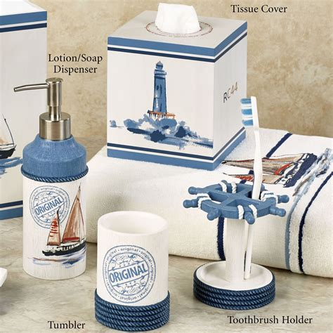 85 Ideas About Nautical Bathroom Decor Theydesign Net Anchor Bathroom Accessories