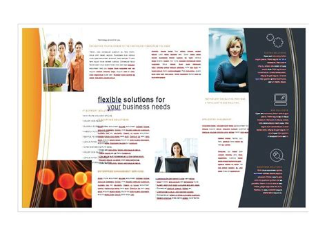 word brochure template brochure template word bbapowers info