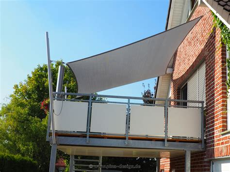 befestigung sonnensegel balkon sonnensegel balkon sonnenschutz kaufen pina