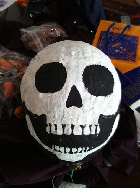 How To Make Paper Mache Skull - paper mache skull inspiration
