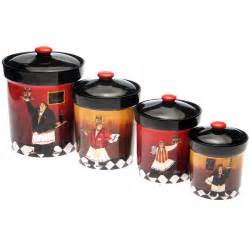 Italian Canisters Kitchen Fat Chef Kitchen Decor
