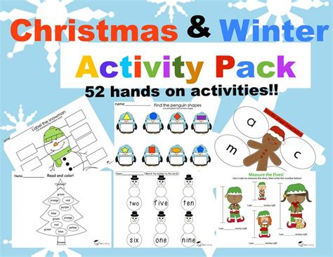 printable christmas party games pack download winter activity pack jady a
