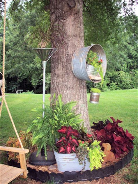 hometalk repurposed junk garden