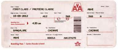 Pretend Plane Ticket Template by Search Results For Blank Airline Ticket Template