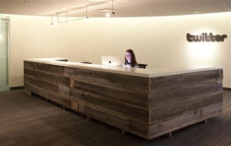 Atrium Wood And Concrete Recep Desk No Piscine In My Wooden Reception Desk