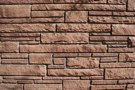 Brick Wall by Red Sandstone Brick Wall Texture Picture Free Photograph