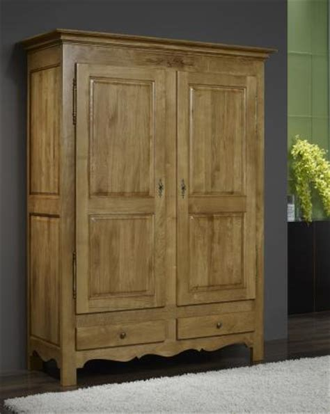 armoire chene blanchi armoire