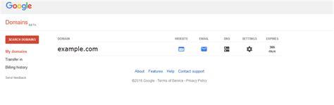 change  servers  google domains