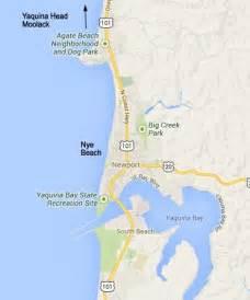 map of newport oregon newport oregon nye tour oregon coast
