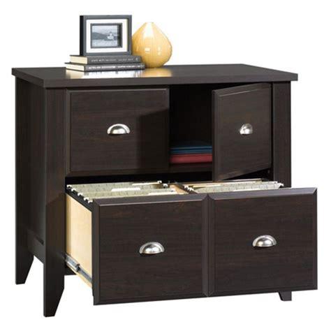 sauder samber desk granite jamocha wood amazon com shoal creek lateral file cabinet with doors