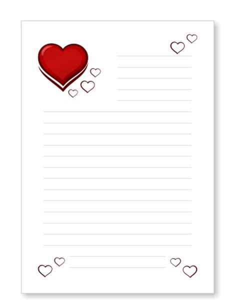 Word Vorlage Liebesbrief briefpapier liebesbrief herzen kostenlos ausdrucken