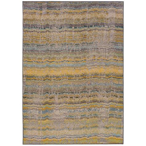 Yellow Area Rug 5x8 City Furniture Kaleidoscop Yellow 5x8 Area Rug