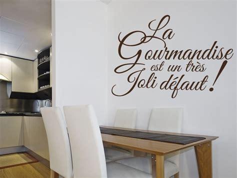 poster mural pour cuisine sticker texte cuisine gourmandise magic stickers