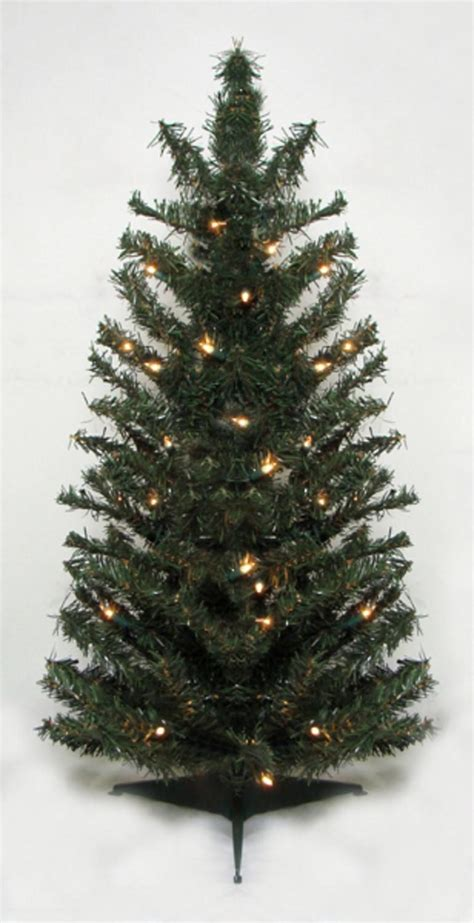 canadian christmas trees 2 5 pre lit canadian pine artificial tree clear lights jet