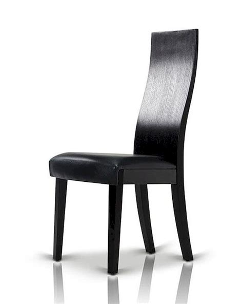 black oak dining chair in contemporary style 44d616ch set