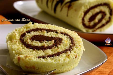 decorare rotolo dolce rotolo alla nutella ricetta infallibile e golosa