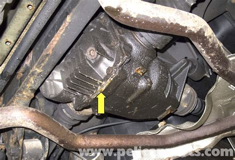 rear differential fluid bmw x5 front and rear differential fluid replacement e53
