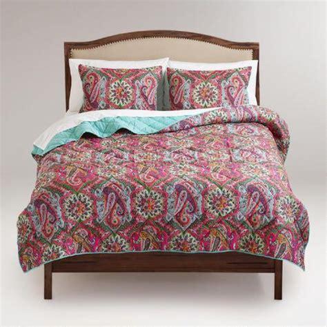 paisley bedding paisley rialto bedding collection world market