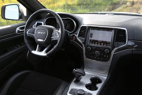 jeep grand interior 2015 review 2015 jeep grand srt canadian auto review