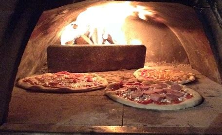 large wood fired oven mobile pizzone made in italy