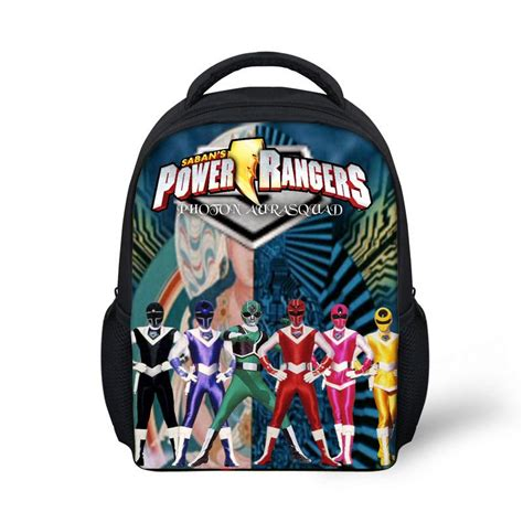 ranger protector brothers of company b books new power ranger lost golaxy backpack for boys 3d