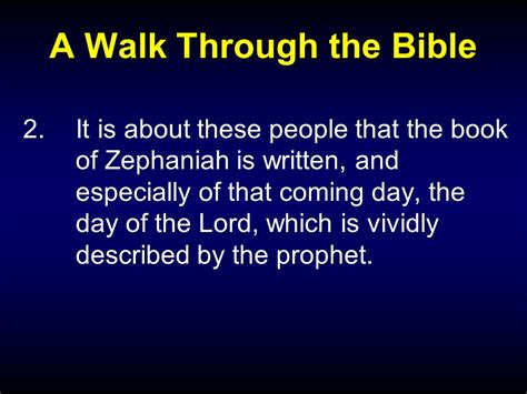 a walk through the bible books a walk through the bible with bro bill ppt