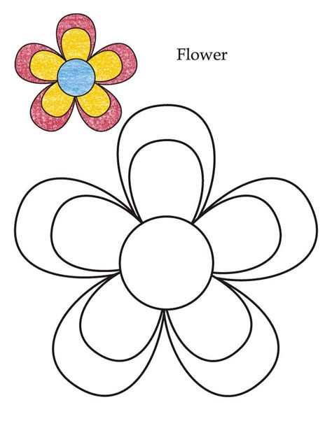 flower pattern for preschool 36 best birthday cards templates images on pinterest