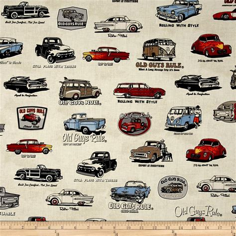 car upholstery material for sale kaufman old guys rule cars and words ivory discount