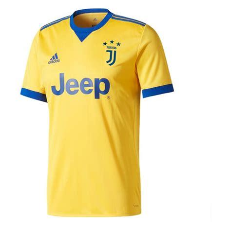 Jersey Juventus Away Patch Serie A 2017 2018 Grade Ori juventus away soccer jersey 2017 18 yellow juventus