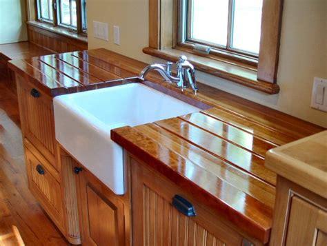 Butcher Board Countertop by Cherry Custom Wood Countertops Butcher Block
