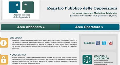 ufficio delle opposizioni registro delle opposizioni come iscriversi offers