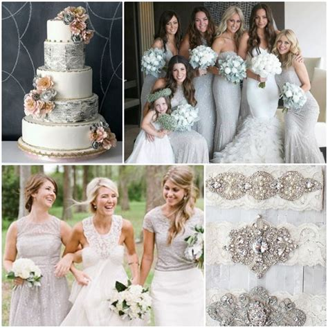 weddings by color shades of silver white wedding philippines wedding philippines