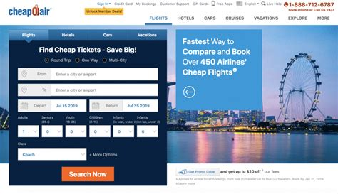 the 10 best flight search for booking cheap airfare in 2019