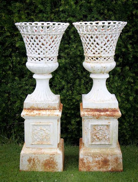 antique garden urns and planters images