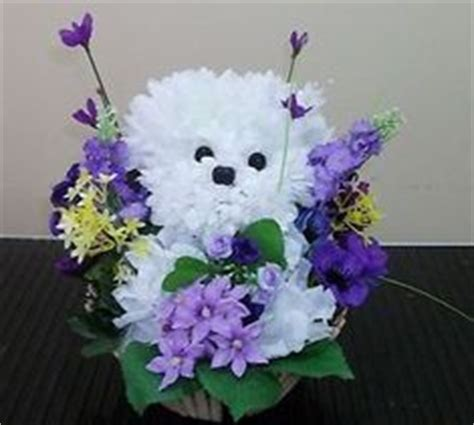 puppy flower arrangement 1000 images about and animal flower arrangements on flower