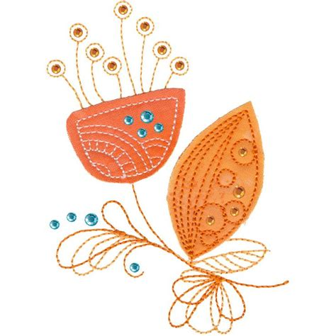free doodle embroidery designs doodle applique flower free machine embroidery