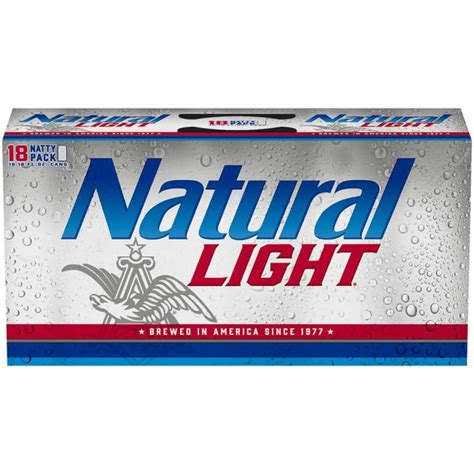 how much is a 24 pack of natural light how much does a 30 pack of natty light cost