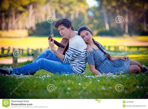 Free For Couples Guitar Stock Photo Image 29339696