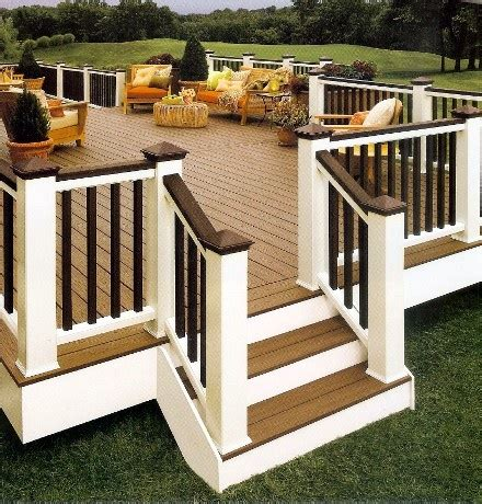 Exterior Banister by Exterior Railing Home Improvement Resource
