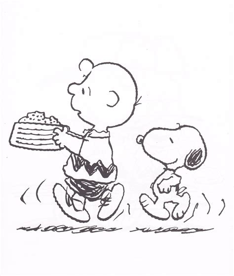free coloring pages of and snoopy