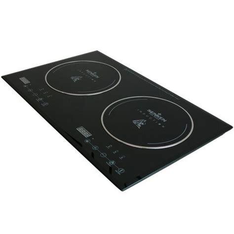 Induction Cooktop Energy Savings Senken Digital Induction Stove Double Burner Glass Ceramic