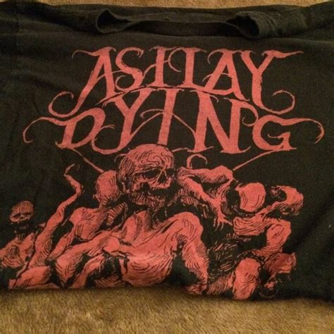 As I Lay Dying 17 T Shirt Size S topic as i lay dying band t shirt merch from