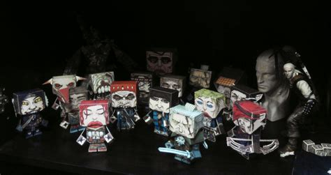 Witcher 2 Papercraft - geralt figure doll released cd projekt forums