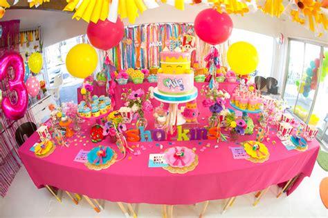 Kara's Party Ideas Floral Shopkins Birthday Party   Kara's Party Ideas