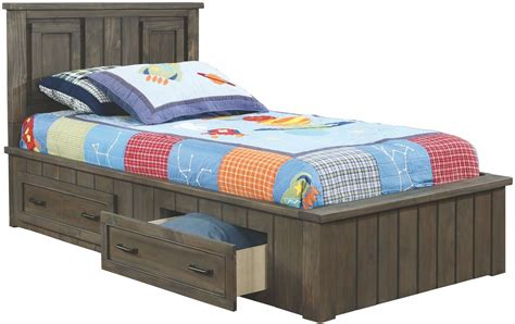 twin platform bed with headboard napoleon youth gunsmoke twin platform bed with headboard 400931ht coaster furniture