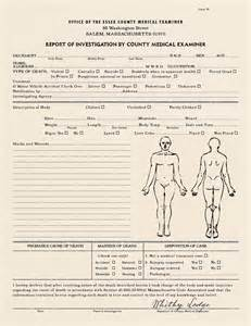 autopsy template realistic blank report autopsy report