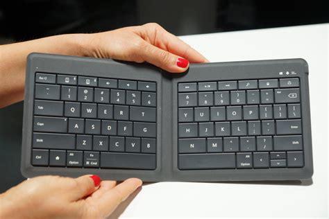 Microsoft Universal Keyboard unfolding microsoft s universal foldable keyboard photos cnet